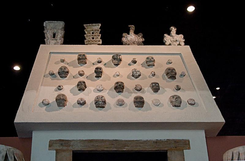 <center>Skulls   <br><br>Mexico City, Mexico    </center>