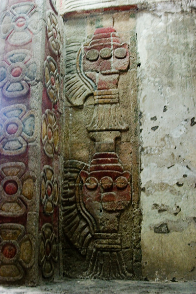 <center>Decorated Columns   <br><br>Teotihuacan, Mexico    </center>