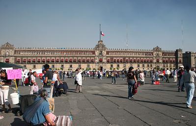 Palacio Nacional (Official residence of the President)