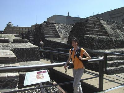 Templo Mayor - built in the 1300s