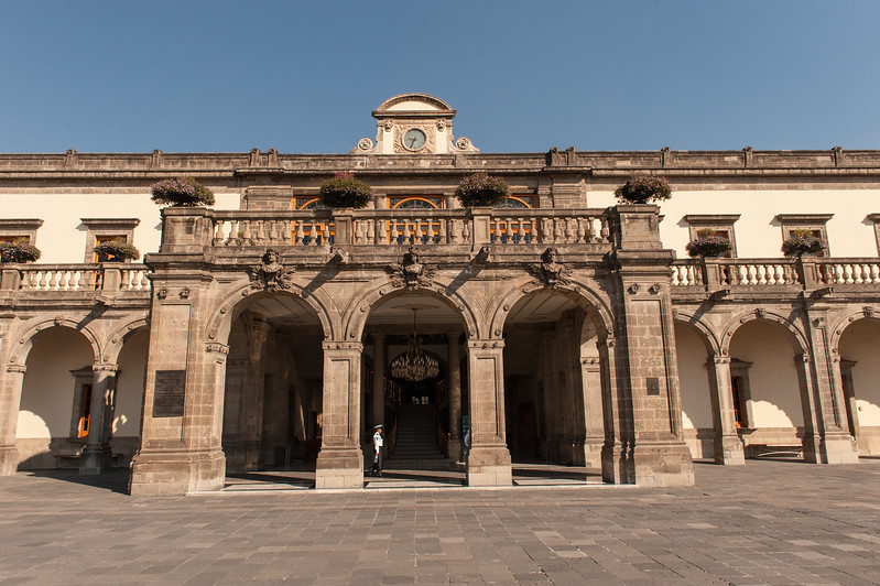 Castillo Chapultepec, Circa 1784