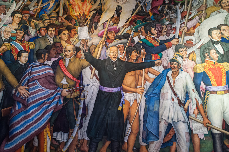 Fr Miguel Hidalgo - Father of Mexican Independence circa 1810