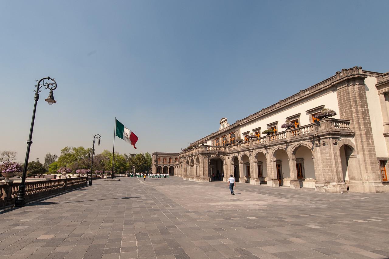 Castillo Courtyard