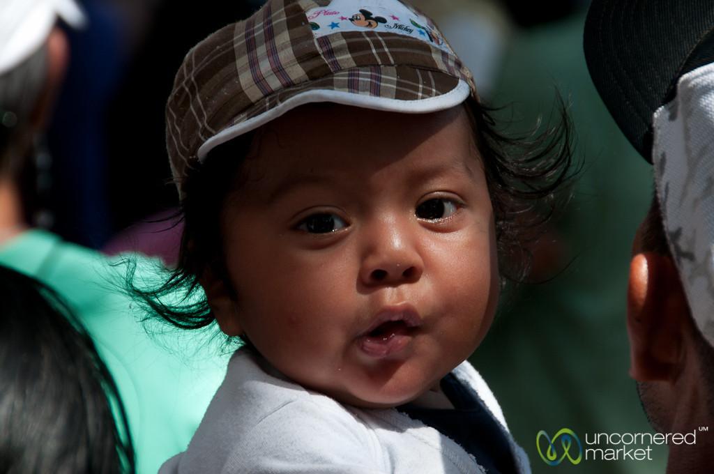 Baby at Carnaval - San Martin Tilcajete, Mexico