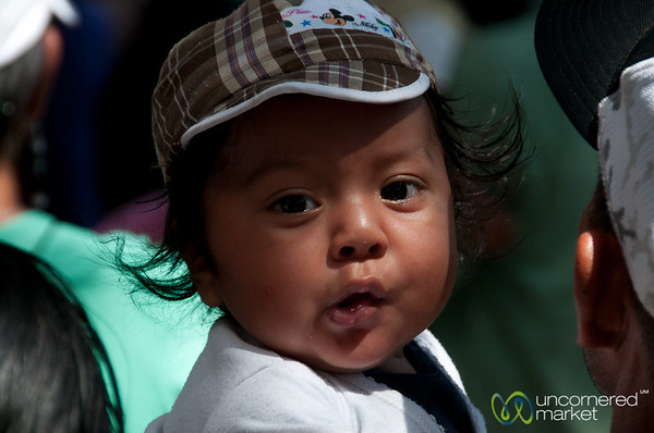 Baby at Carnaval - San Martin Tilcajete, Mexico