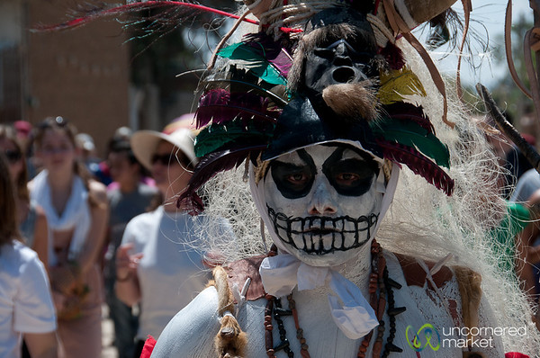 Pirate Skull Costume for Mardi Gras - San Martin Tilcajete, Mexico