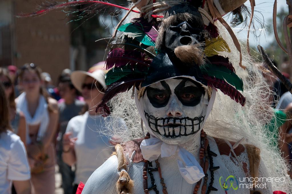 Pirate Skull Costume for Mardi Gras - San Martin Tilcajete, Mexico