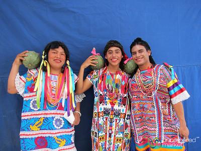 Transvestite Indigenous on Carnaval - San Martin Tilcajete, Mexico