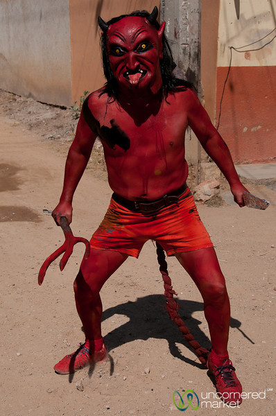 Devil on Mardi Gras - San Martin Tilcajete, Mexico