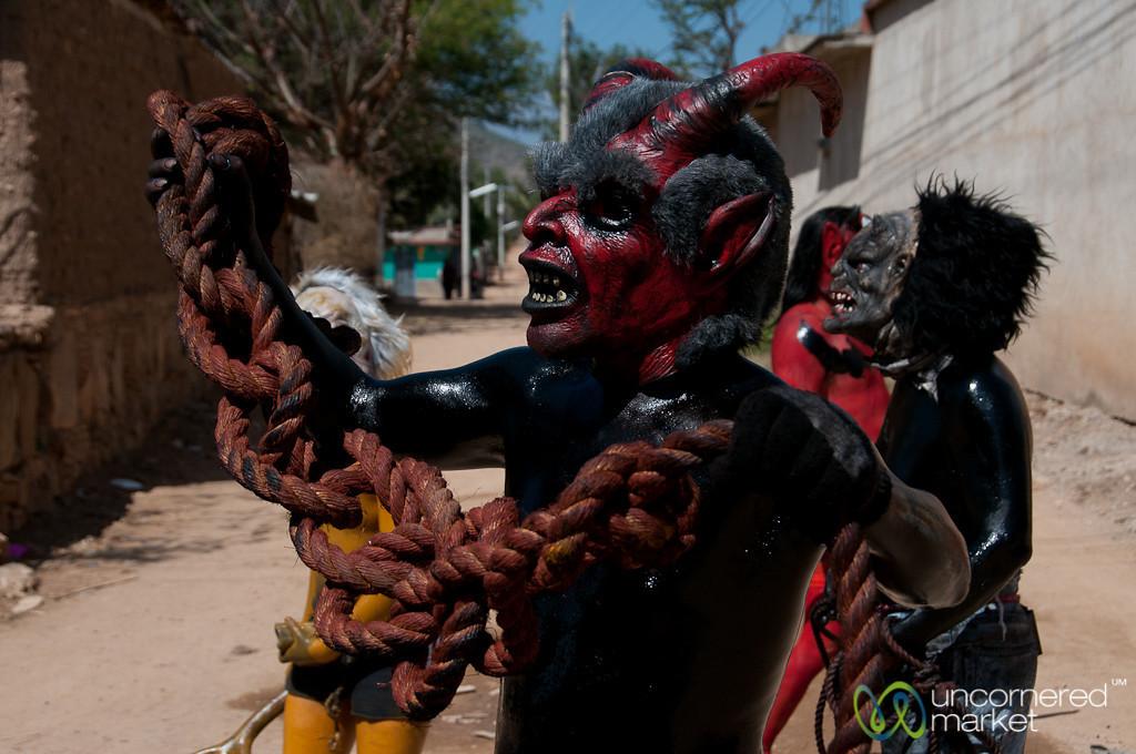 Mardi Gras Devil - San Martin Tilcajete, Mexico