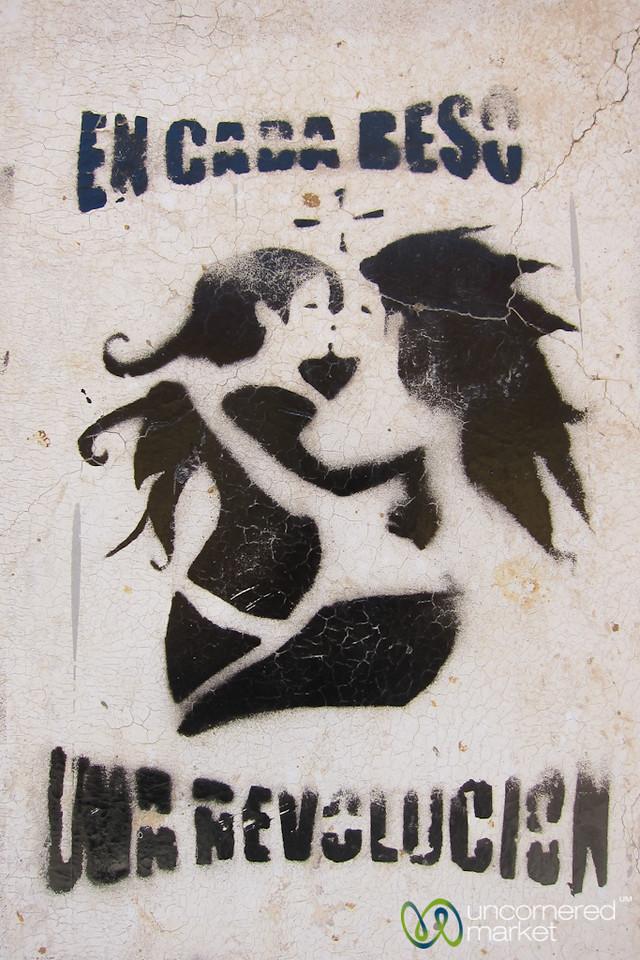 With Each Kiss, a Revolution - San Cristobal de las Casas, Mexico