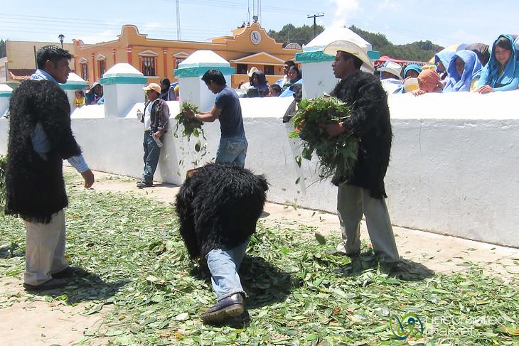 San Juan Chamula Easter Day - Chiapas, Mexico
