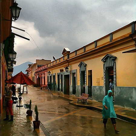 Good Friday in the rain, San Cristobal #Chiapas #Mexico