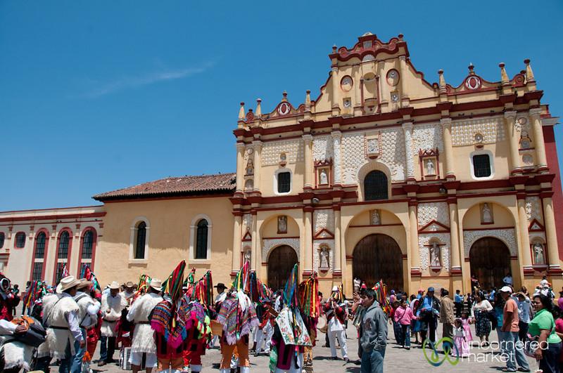 Catedral de San Cristóbal de las Casas on Easter - Chiapas, Mexico