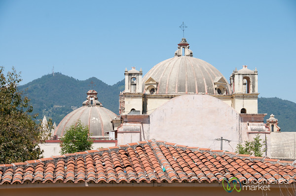Church Rooftops in San Cristobal de las Casas - Chiapas, Mexico