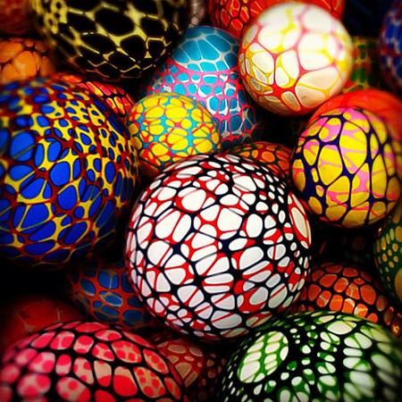 Psyche-webby #balls Semana Santa market, San Cristobal #Chiapas #frifotos