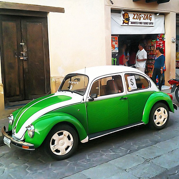 VW Beetle for sale, let's start the bidding - San Cristobal #Chiapas #Mexico