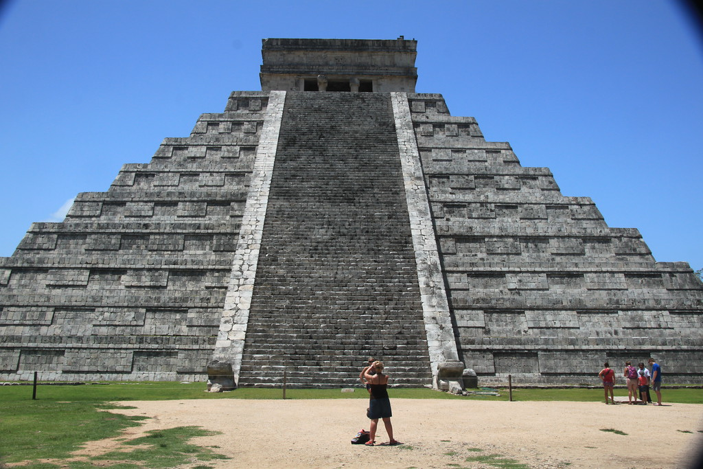 Temple of Kukulkan - Chichen Itza, Mexico - Photo