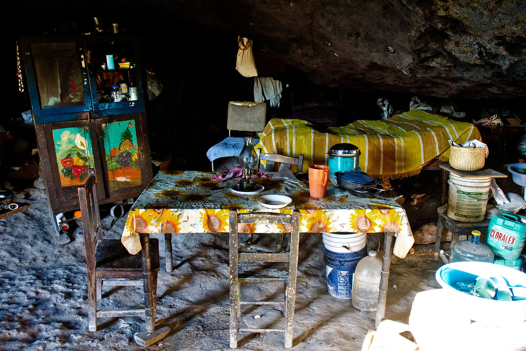Dining Room Cave Creel Mexico