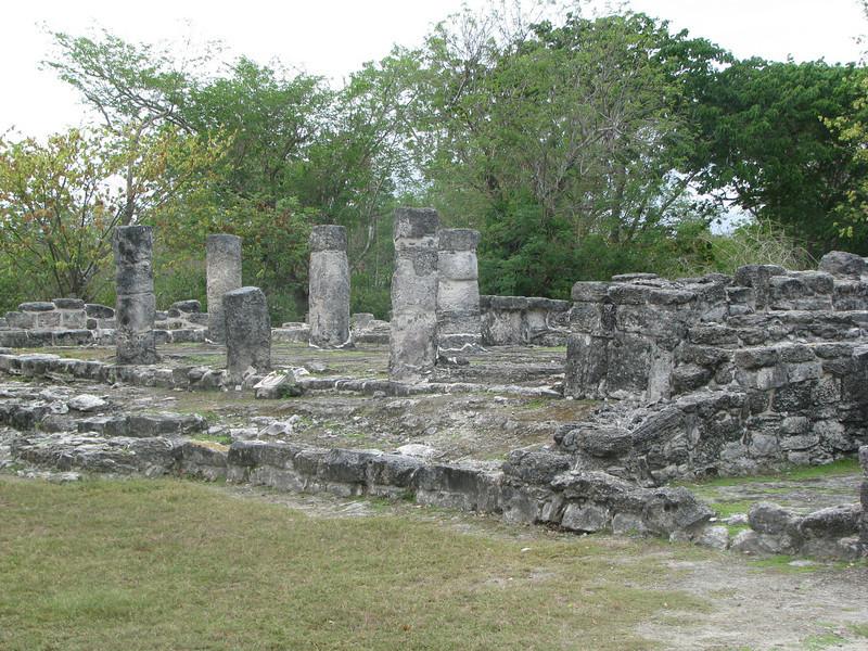 Mayan ruin