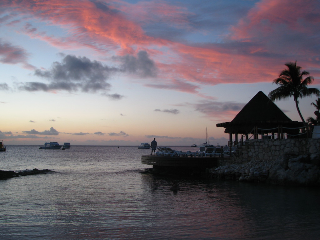 Mexican Sunset - Cozumel, Mexico - Photo