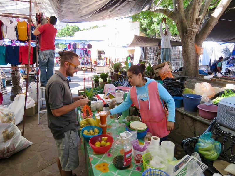 Meyve Suyu - Guanajuato Sokak Yemekleri Turu - Guanajuato, Meksika