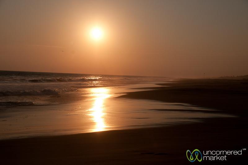 Sunset at Playa La Ventanilla - Mazunte, Mexico