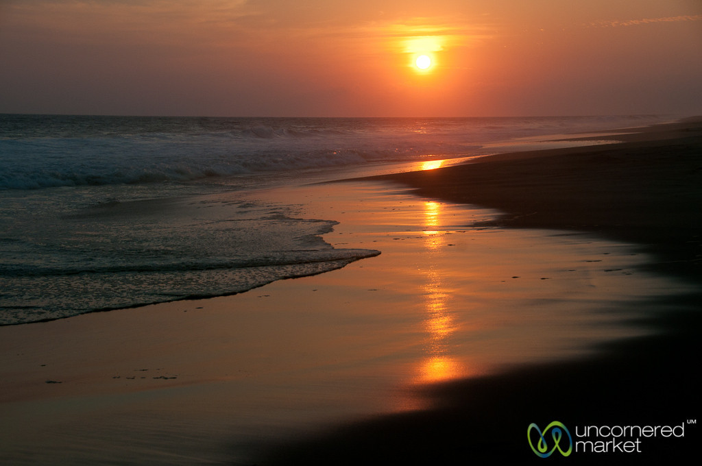 Sunset at La Ventanilla Beach - Mazunte, Mexico