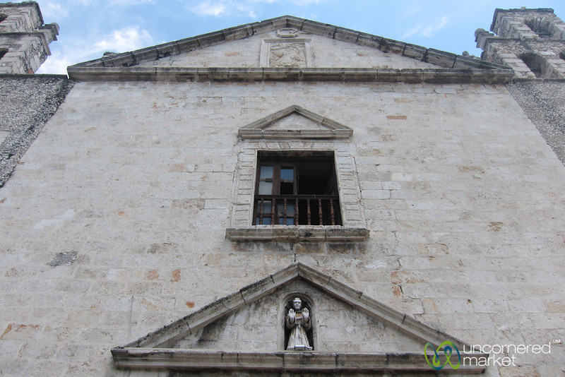 Church Facade in Merida, Mexico