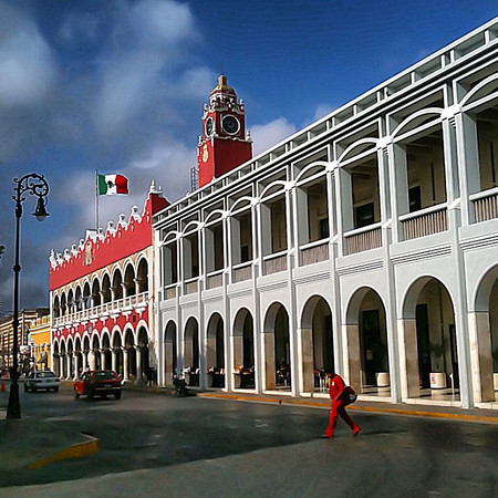 Palacio Municipal, #Merida #Yucatan #Mexico