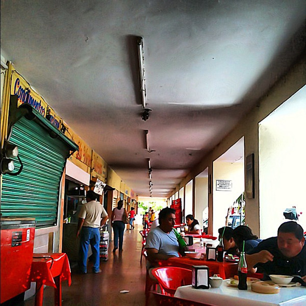 Today's lunch palace, Mercado de Santiago #Merida #Yucatan #Mexico