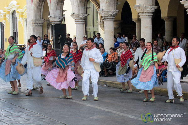 Traditional Yucatan Dancers - Merida, Mexico