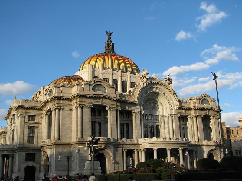Mexico City - Palace of Fine Arts