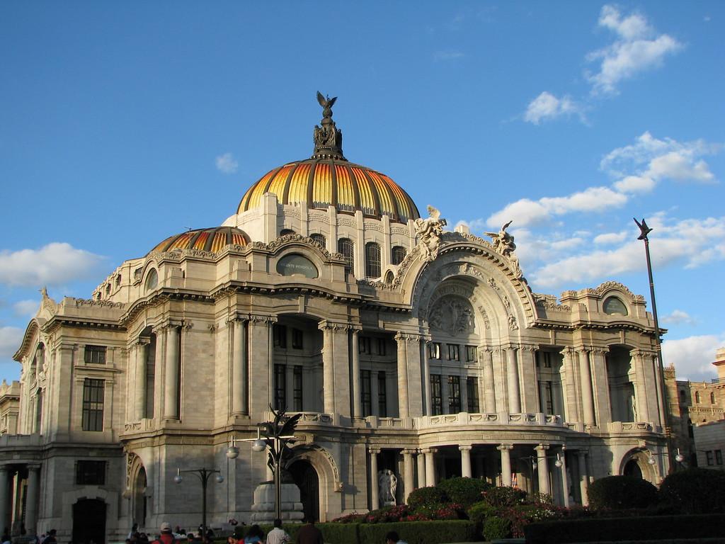 Palace of Fine Arts - Mexico City, Mexico