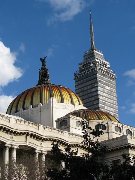 Palacio de Bellas Artes (Palace of Fine Arts) and Torre Latinoamericana