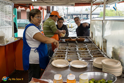 Street food - Taco stand