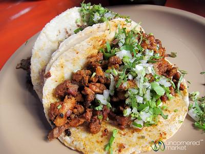 Tacos at the Sunday Market - Oaxaca, Mexico