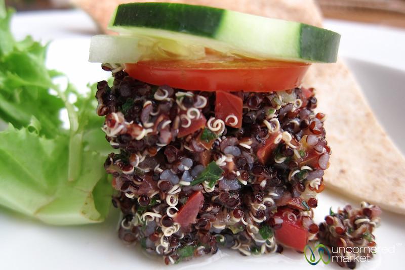 Quinoa Tabouli Salad - Oaxaca, Mexico