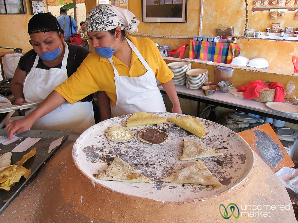 Oaxacan Food at Itanoni - Oaxaco, Mexico