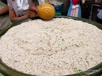 Tejate at Etla Market - Oaxaca, Mexico