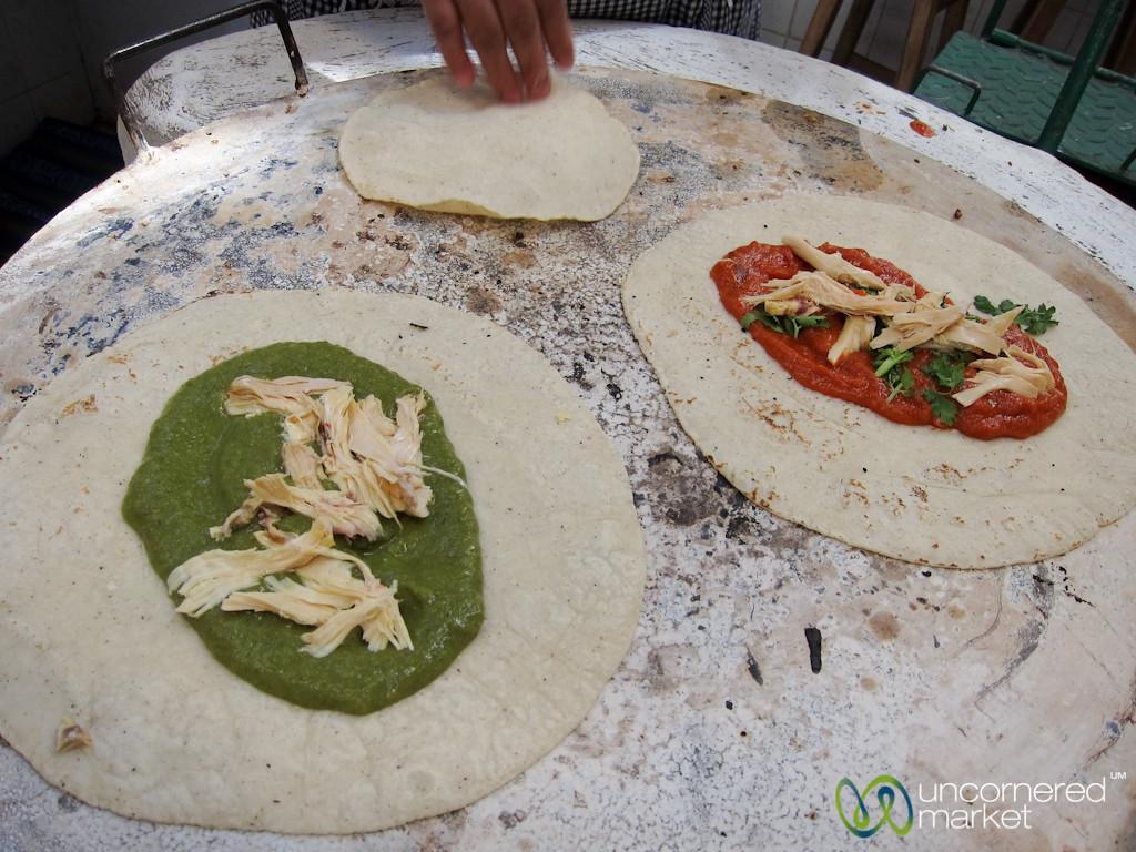 Empanadas in the Making - Oaxaca, Mexico