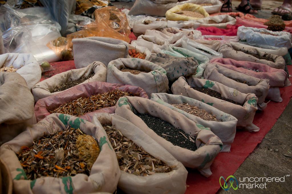Spices at the Etla Market - Oaxaca, Mexico