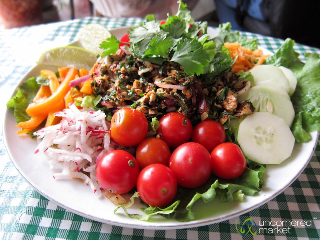 Chicken Laap Salad - Oaxaca, Mexico