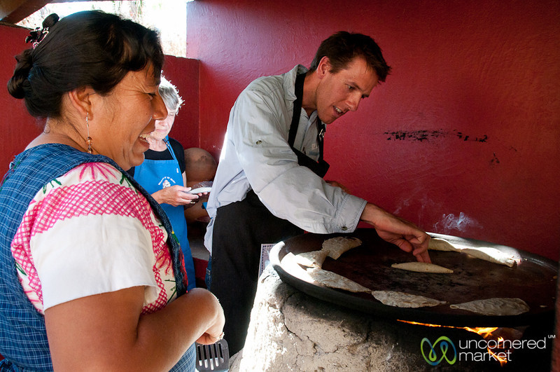 Dan Makes Huitlacoche Tacos - Oaxaca, Mexico