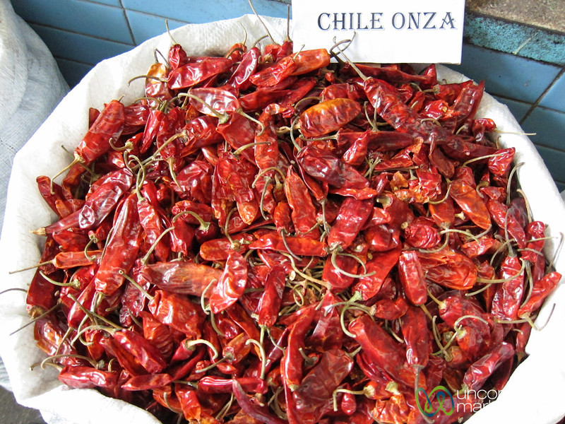 Dried Chile Onza - Oaxaca, Mexico