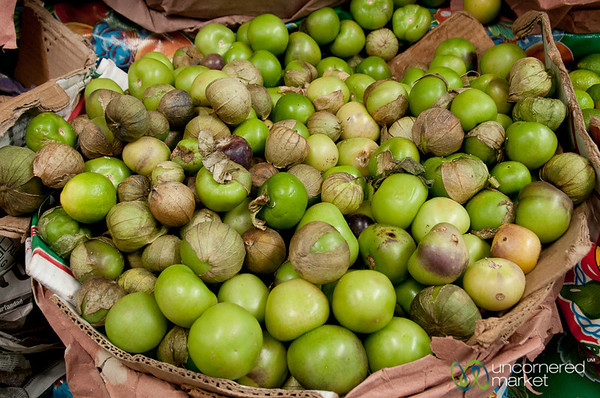 Tomatillos - Etla Market, Oaxaca