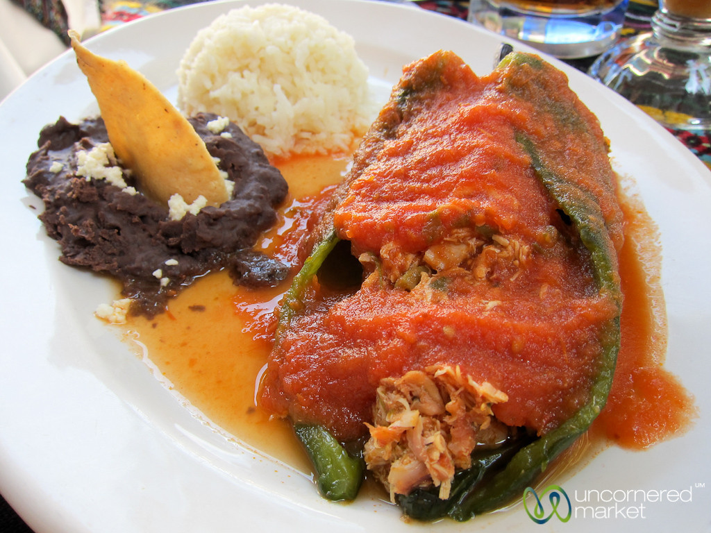 Stuffed Pepper - Oaxaca, Mexico