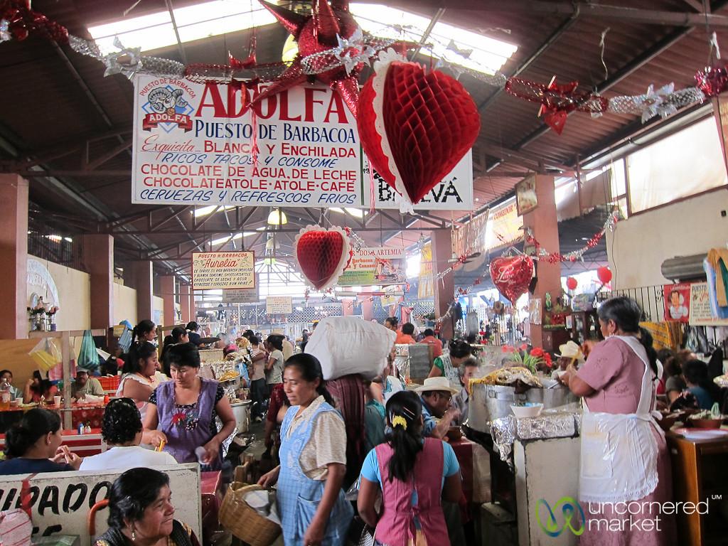 Goat Soup Aisle at Tlacolula Market, Mexico