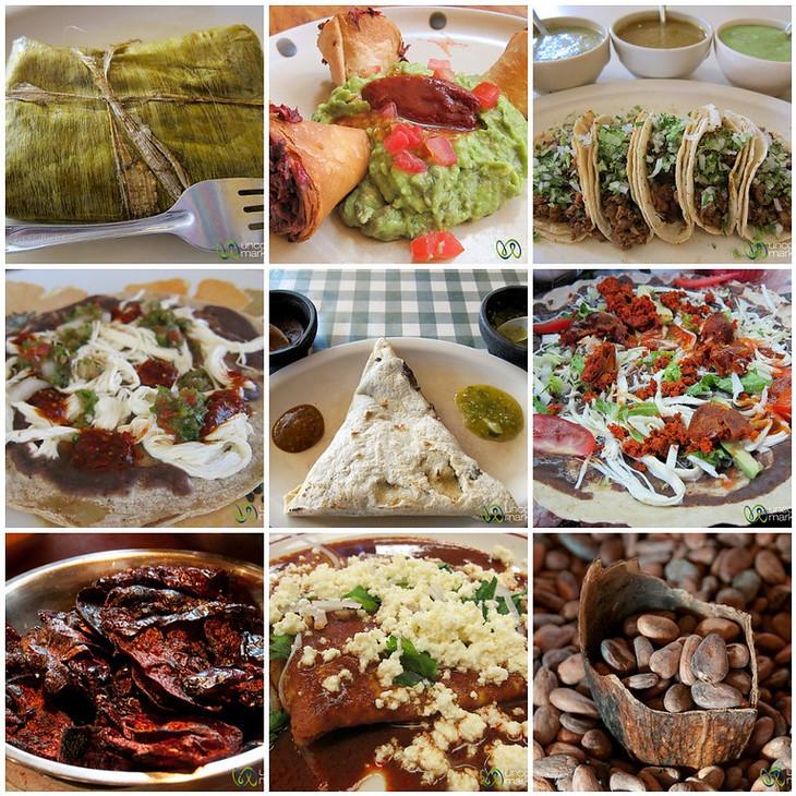 Oaxaca Food Mosaic