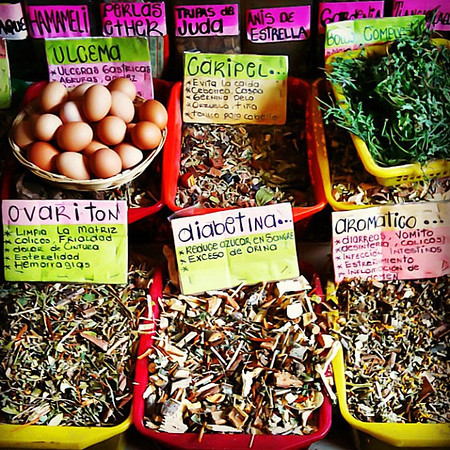 Natural remedies for what ails you, #Oaxaca market